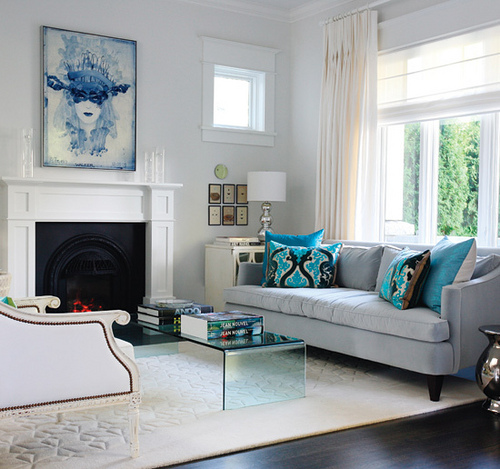 blue living room decor on decorwise have over 40 years experience