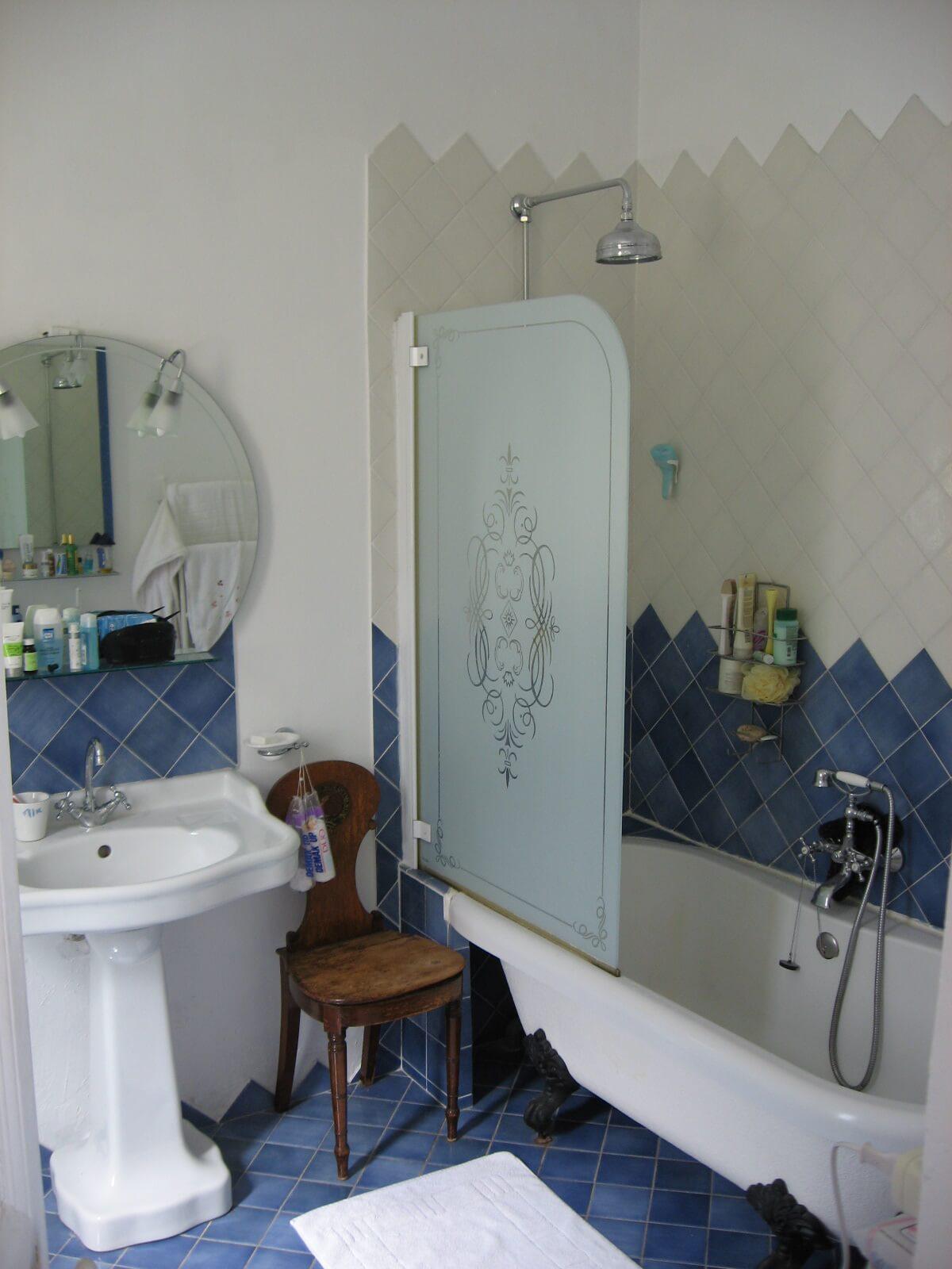 Blue Classic Bathroom
