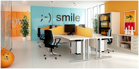 Next generation of contemporary office furniture for for Office design and productivity