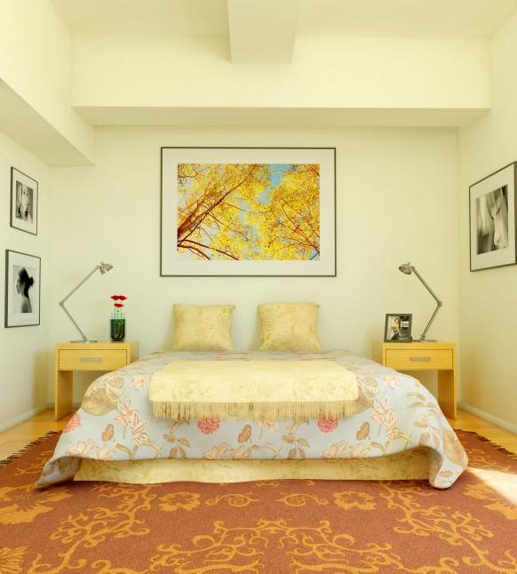 Cream Bedroom Full Refurbishment
